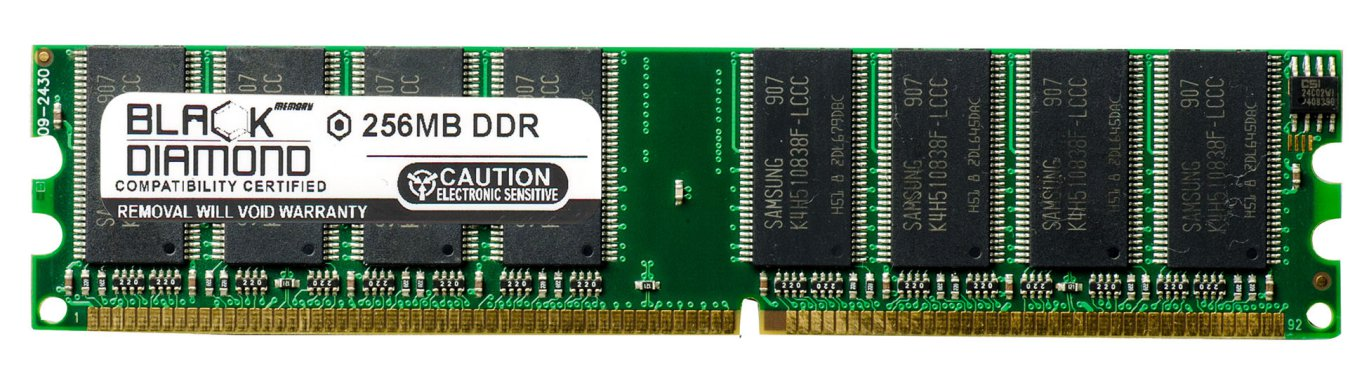 256MB 2Rx8 DDR 266 PC 2100 Memory 184 Pin
