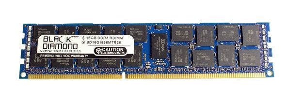 Picture of 16GB DDR3 1866 (PC3-14900) ECC Registered Memory 240-pin (2Rx4)