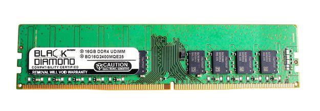 Picture of 16GB DDR4 2400 ECC Memory 288-pin (2Rx8)