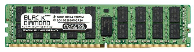 Picture of 16GB DDR4 2666 ECC Registered Memory 288-pin (2Rx4)