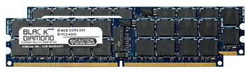 Picture of 16GB Kit (2x8GB) DDR2 533 (PC2-4200) ECC Registered Memory 240-pin (2Rx4)