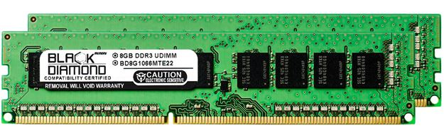 Picture of 16GB Kit (2x8GB) DDR3 1066 (PC3-8500) ECC Memory 240-pin (2Rx8)