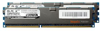 Picture of 16GB Kit (2x8GB) DDR3 1333 (PC3-10600) ECC Registered Memory 240-pin (2Rx4)