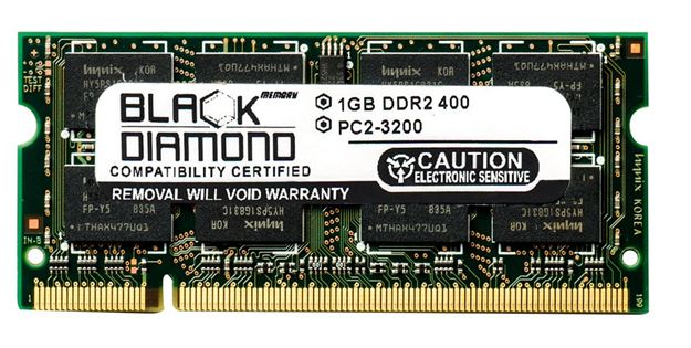 Picture of 1GB DDR2 400 (PC2-3200) SODIMM Memory 200-pin (2Rx8)
