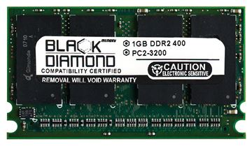 Picture of 1GB DDR2 533 (PC2-4200) Proprietary SODIMM Memory 214-pin (2Rx16)