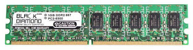 Picture of 1GB DDR2 667 (PC2-5300) ECC Memory 240-pin (2Rx8)
