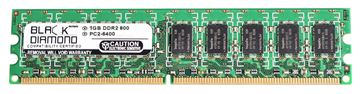 Picture of 1GB DDR2 800 (PC2-6400) ECC Memory 240-pin (2Rx8)