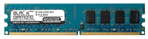 Picture of 1GB DDR2 800 (PC2-6400) Memory 240-pin (2Rx8)