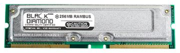 Picture of 256MB Rambus PC800 40ns ECC Memory 184-pin