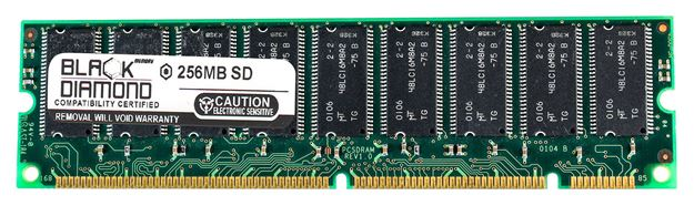 Picture of 256MB SDRAM PC133 ECC Registered Memory 168-pin (2Rx4)