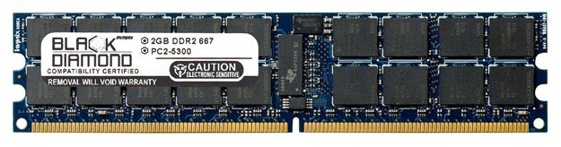 Picture of 2GB DDR2 667 (PC2-5300) ECC Registered Memory 240-pin (2Rx4)