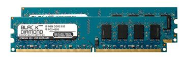 Picture of 2GB Kit (2x1GB) DDR2 533 (PC2-4200) Memory 240-pin (2Rx8)