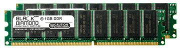 Picture of 2GB Kit(2X1GB) DDR 400 (PC-3200) ECC Memory 184-pin (2Rx8)