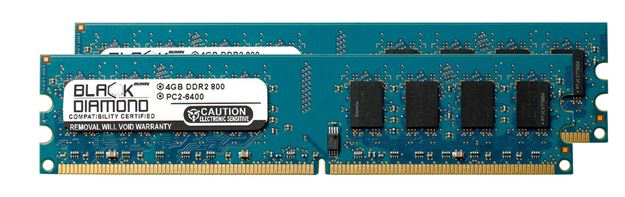 Picture of 4GB DDR2 800 (PC2-6400) Memory 240-pin (2Rx8)