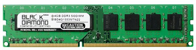 Picture of 4GB DDR3 1333 (PC3-10600) Memory 240-pin (1Rx8)