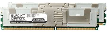 Picture of 4GB Kit (2x2GB) DDR2 533 (PC2-4200) Fully Buffered Memory 240-pin (2Rx4)
