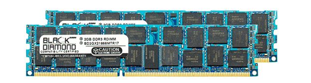 Picture of 4GB Kit (2x2GB) DDR3 1866 (PC3-14900) ECC Registered Memory 240-pin (1Rx4)