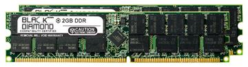 Picture of 4GB Kit(2X2GB) DDR 400 (PC-3200) ECC Registered Memory 184-pin (2Rx4)