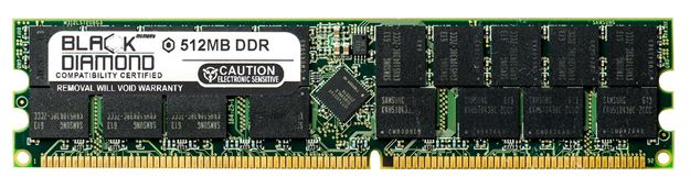 Picture of 512MB DDR 266 (PC-2100) ECC Registered Memory 184-pin (1Rx4)