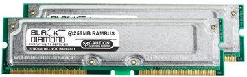 Picture of 512MB Kit(2X256MB) PC800 45ns ECC Memory 184-pin