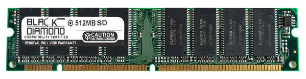 Picture of 512MB (2Rx8) SDRAM PC133 Memory 168-pin