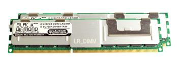 Picture of 64GB Kit (2x32GB) LRDIMM DDR3 1600 (PC3-12800) ECC Registered Memory 240-pin (4Rx4)