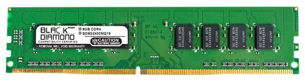 Picture of 8GB DDR4 2400 Memory 288-pin (2Rx8)