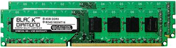 Picture of 8GB Kit (2x4GB) DDR3 1600 (PC3-12800) Memory 240-pin (2Rx8)
