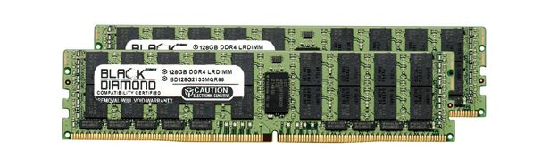 Picture of 256GB Kit (2X128GB) DDR4 2133 RDIMM ECC Registered Memory 288-pin (4Rx4)
