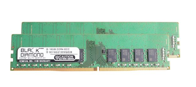 Picture of 32GB (2x16GB) DDR4 2133 ECC Memory 288-pin (2Rx8)