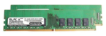 Picture of 32GB (2x16GB) DDR4 2400 ECC Memory 288-pin (2Rx8)