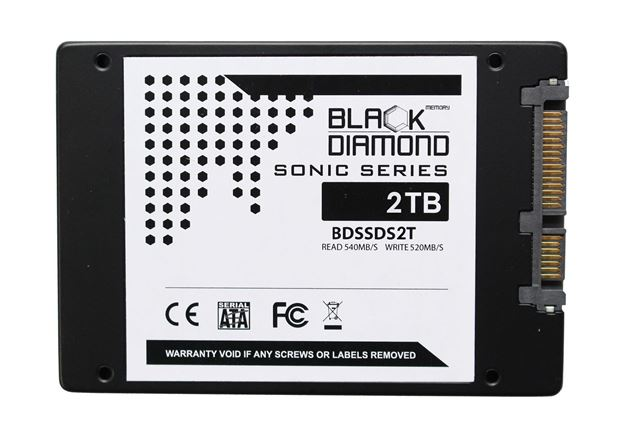 Picture of 2TB Sonic Series SSD 2.5 inch W/R:540/520MB
