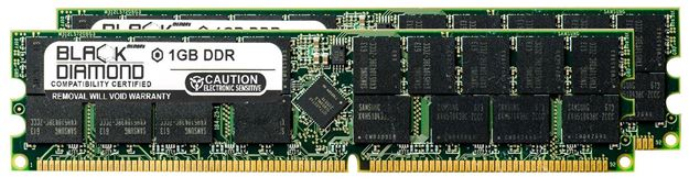 Picture of 1GB DDR 266 (PC-2100) ECC Registered Memory 184-pin (1Rx4)