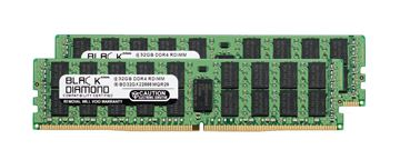 Picture of 64GB Kit (2x32GB) DDR4 2666 ECC Registered Memory 288-pin (2Rx4)
