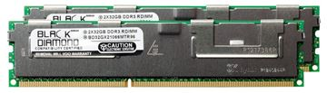 Picture of 64GB Kit (2x32GB) LRDIMM DDR3 1066 (PC3-8500) ECC Registered Memory 240-pin (4Rx4)