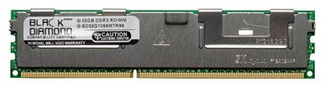 Picture of 32GB LRDIMM DDR3 1066 (PC3-8500) ECC Registered Memory 240-pin (4Rx4)