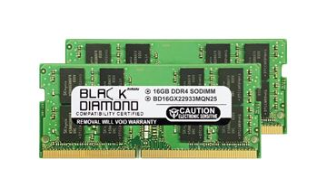 Picture of 32GB Kit(2X16GB) DDR4 2933 SODIMM Memory 260-pin (2Rx8)