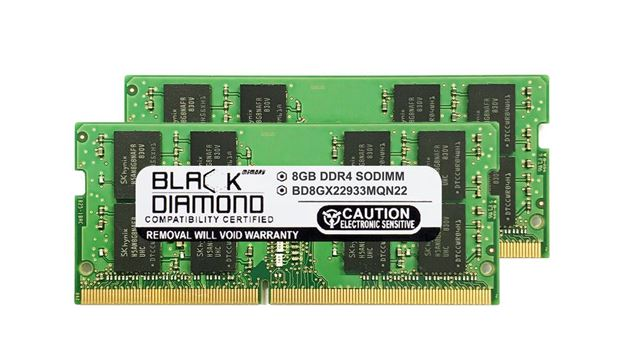 Picture of 16GB Kit (2x8GB) DDR4 2933 SODIMM Memory 260-pin (2Rx8)